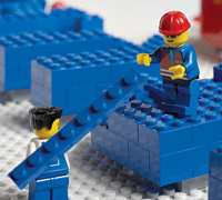 the lego group building strategy case