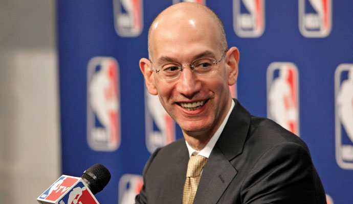 2998d886909 NBA Commissioner Adam Silver Has a Game Plan
