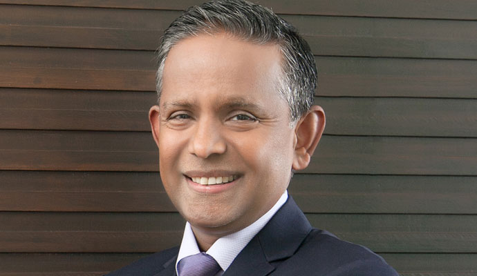 Photo of Dillip Rajakarier, group CEO of the hospitality company Minor International