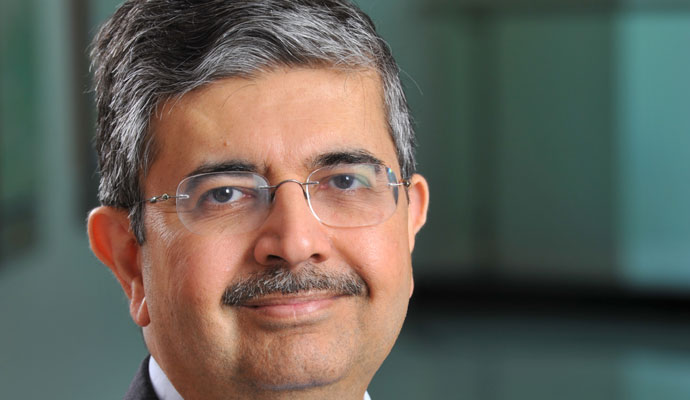 Uday Kotak is founder and CEO of Kotak Mahindra Bank, India's second-most-valued bank by market capitalization.