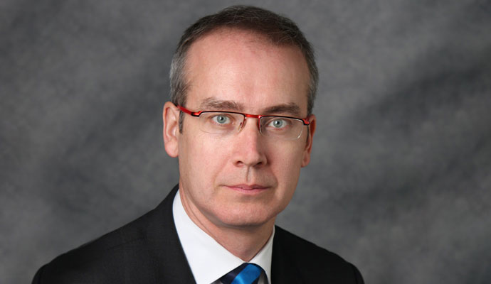 Simon Kennedy is Canada's deputy minister of innovation, science, and economic development.