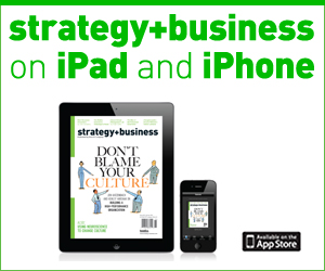strategy+business now on iPad and iPhone.
