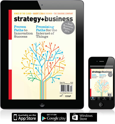 strategy+business on iPad and iPhone