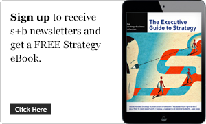 Sign up to receive  s+b newsletters and  get aFREE Strategy  eBook.